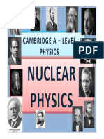 Chapter 27 Nuclear Physics