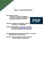 ENSINO MÉDICO  E  EXERCÍCIO PROFISSIONAL