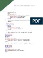 Probleme C++