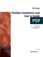 FileSite Installation and User's Guide (9.0, English)
