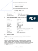 Determination of Acute Reference Exposure Levels for Airborne Toxicants March