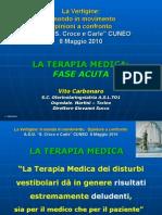 09_Dr. v. Carbonaro - Terapia Medica - Fase Acuta - Relazione