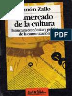 Zallo, Ramon - El Mercado de La Cultura