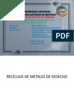 Reciclaje de Metales de Desecho