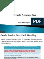 Error Handling in Oracle Service Bus