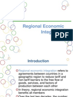 Trade Blocks & Economic Integration