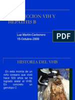 Coinfección VIH Hepatitis B