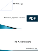 Oracle Service Bus Architecture, Jargon and Resources1