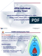4. KAIZEN Individual Pentru Tineri