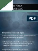 Síndrome rino-oculofaringeo