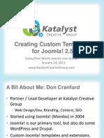 Joomla Custom Templates