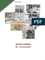 Revista Presei 06-20 Mai 2013