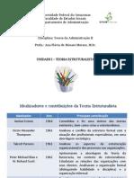 1. TA II - Teoria Estruturalista