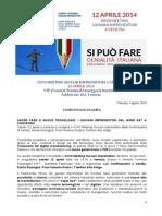 XXVII MEETING GIOVANI IMPRENDITORI A VENEZIA 12 APRILE 2014  VTP (Venezia Terminal Passeggeri) Marittima Fabbricato 103, Venezia