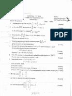 STPM Trial 2009 Math T Q&A (SamTet, Perak)