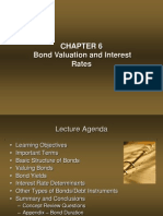 Chapter 6 - Bond Valuation and Interest Rates