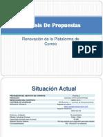 Análisis De Propuestas - correo electrónico