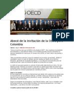 Abecé de la invitación de la OCDE para Colombia
