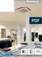 Daikin - Split Type Cassette AC Units - FCQ Sky Air Rang