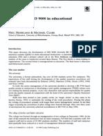 Moreland y Clark ISO en Diferentes Niveles Educativos
