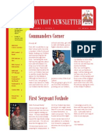 Foxhounds Newsletter Issue1 (1)