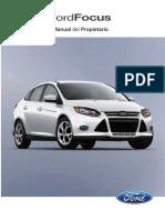 Ford Focus Manual Del Propietario