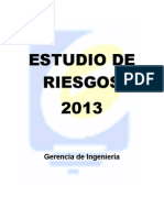 Estudio de Riesgos 2013 ElectroSur Este