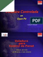 Tronadura Controlada en Open Pit U 2014