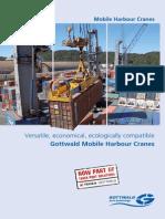 GottGottwald Mobile Harbour Craneswald Mobile Harbour Cranes