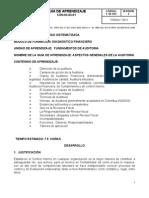 Fundamentos de Auditoria GUIA No 1