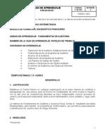 Fundamentos de Auditoria GUIA No 2