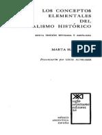 Harnecker Marta - Los Conceptos Elementales Del Materialismo Historico