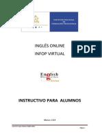 Instructivo Para El Alumno Infop