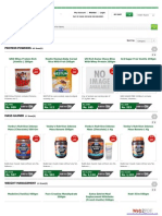 Sports nutrition products online