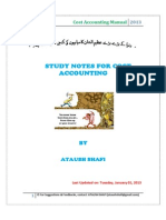 Cost Accounting Manual (1)