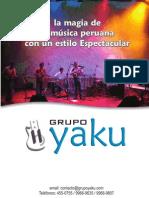 grupo_YAKU_broshure