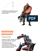 Research Character Design