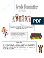 fourth grade newsletter 4-4