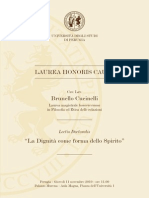 CUCINELLI Folder Honoris Causa