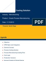 Hexaware Oracle Process Costing Solution