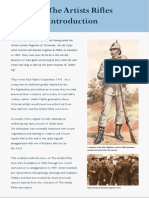 The Artists Rifles - Introduction