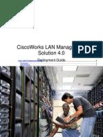 CiscoWorks LAN Management Solution 4.0 Deployment Guide