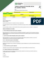 NTP 47 Parámetros de interés a efectos de incendio de las sustancias químicas más usuales. Valores