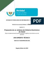 Integracion de los registros electronicos con las facturas de salud -proyecto Esalud.pdf