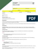 NTP 568 Primeros Auxilios Contusiones y Heridas