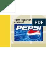 Supply Chain Management Pepsi