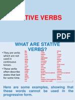 Stative Verbs Ppt