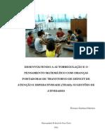 atividades para desenvolver a atenção em crianças com tdah