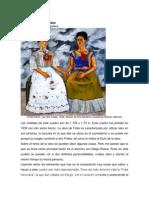 Imagen Análisis a Las dos Fridas