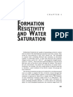 Formation Resistivity and Water Saturation